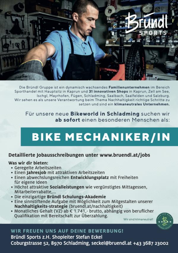 Bike Mechaniker/in (m/w/d)