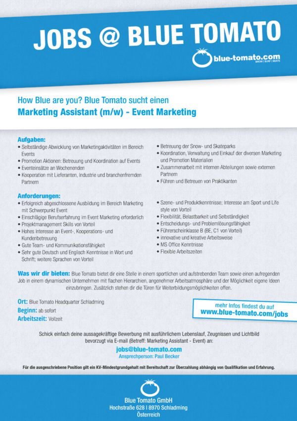 Marketing Assistant - Event Marketing