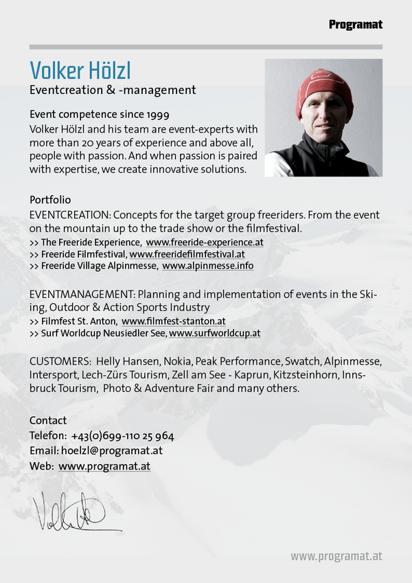 Eventkreation & -management