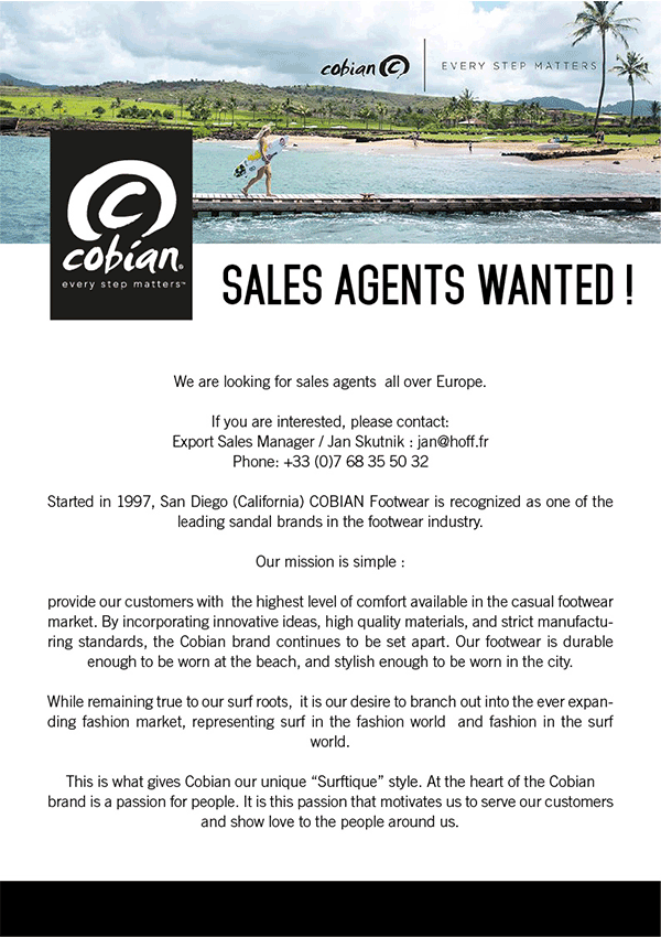 Sales Agents Wanted