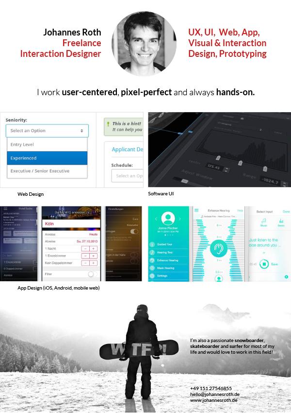 UX/UI Design, Web, iOS, Android