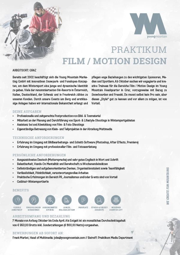 Praktikum Film / Motion Design