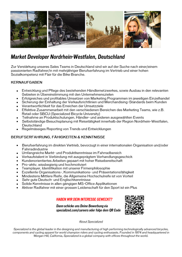 MARKET DEVELOPER, Nordrhein-Westfalen