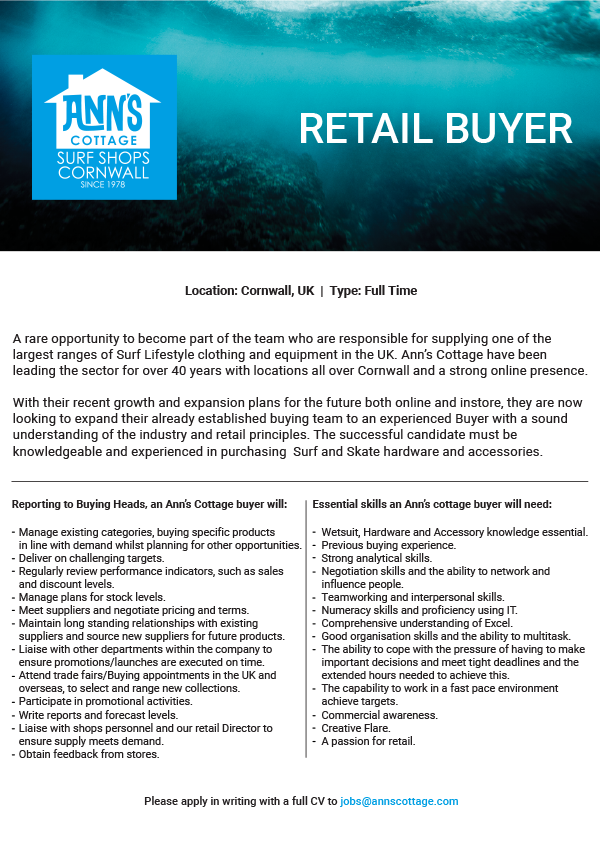 Retail Buyer