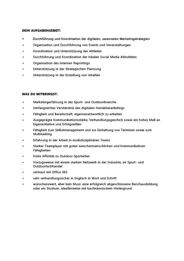 Marketing Coordinator DACH (W/M/D)