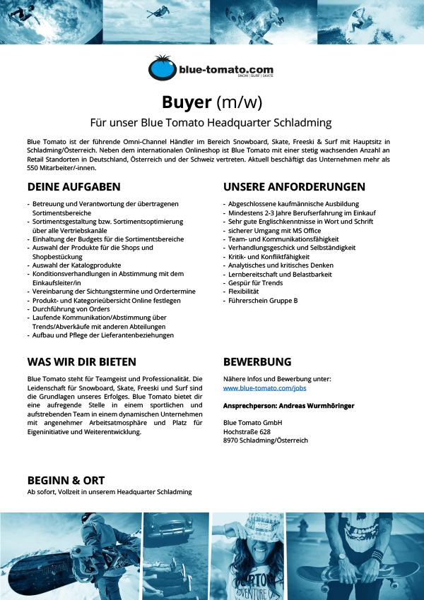 Buyer (m/w)