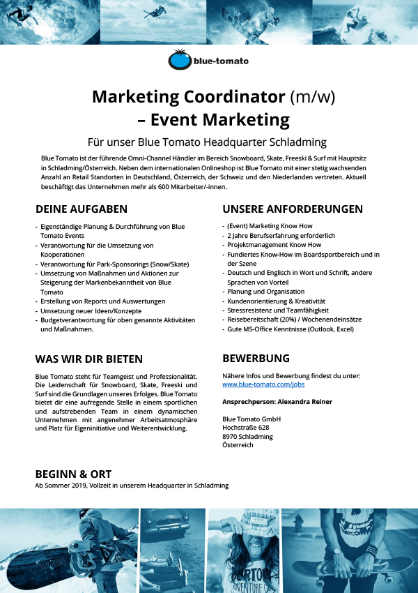 Marketing Coordinator (m/w) - Event Marketing