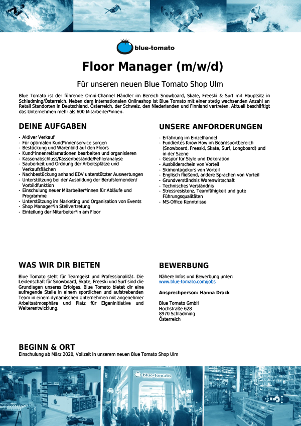 Floor Manager (m/w/d)