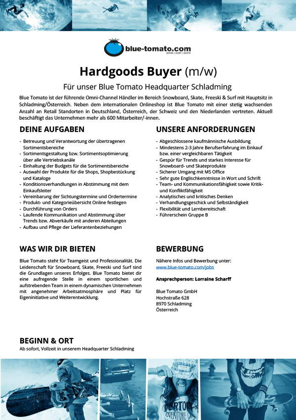 Hardgoods Buyer (m/w)