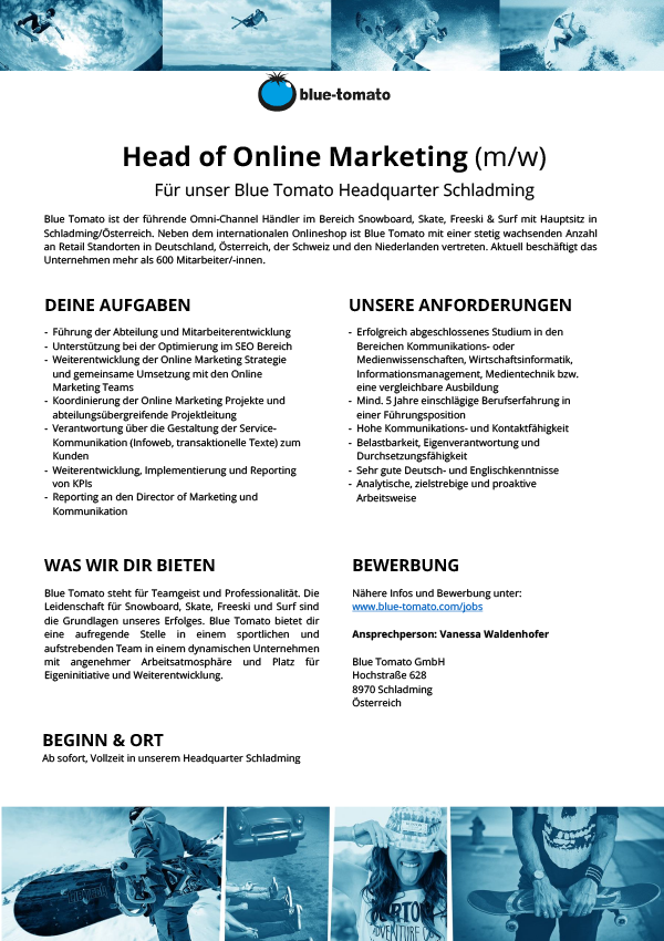 Head of Online Marketing (m/w)
