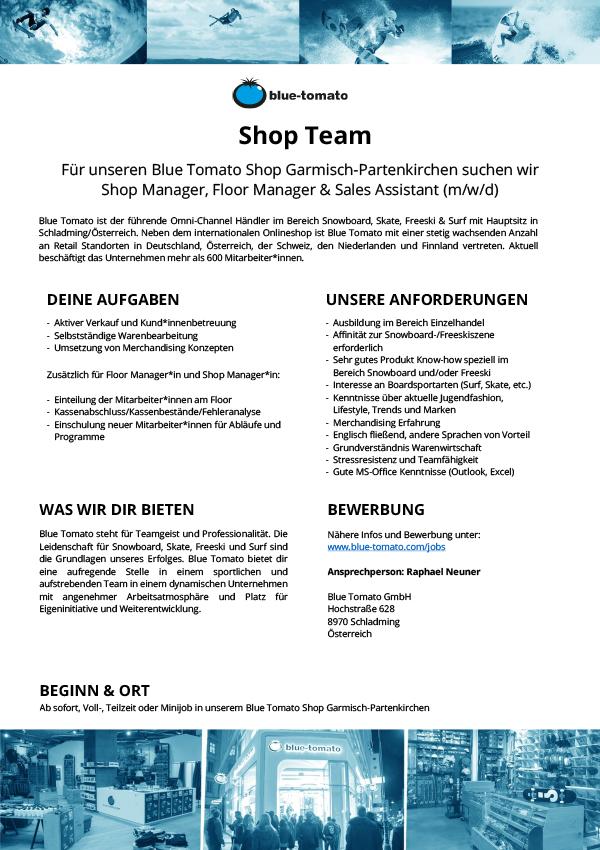 Shop Team