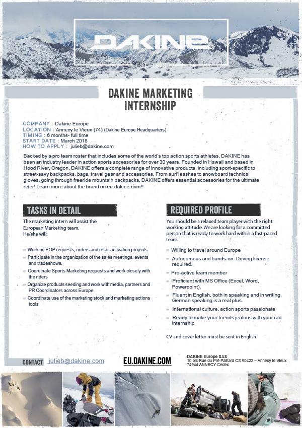 Marketing Internship (German speaking)