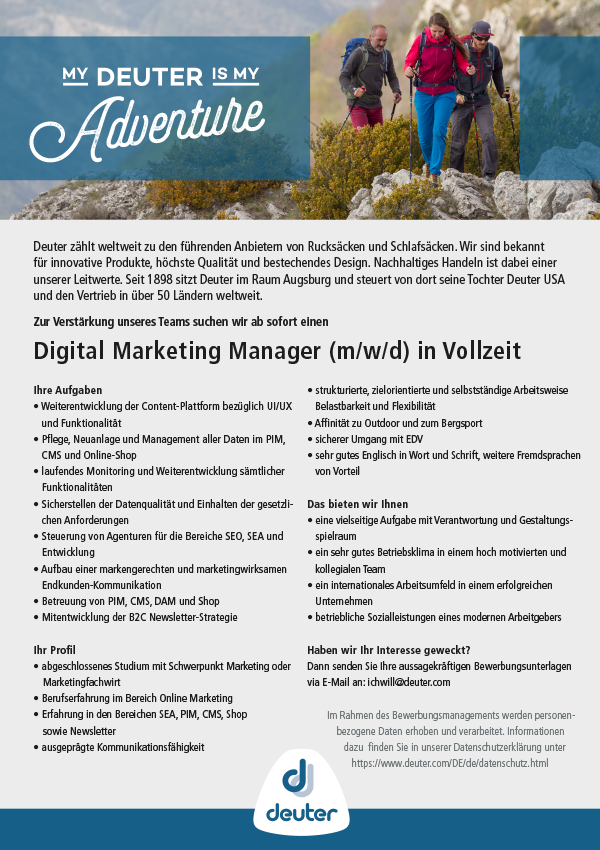 Digital Marketing Associate (m/w/d)