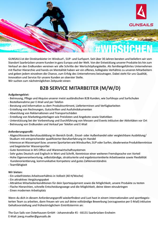 Customer Service B2B Account Manager