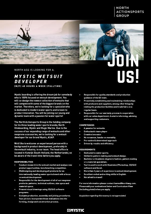 Mystic Wetsuit Developer