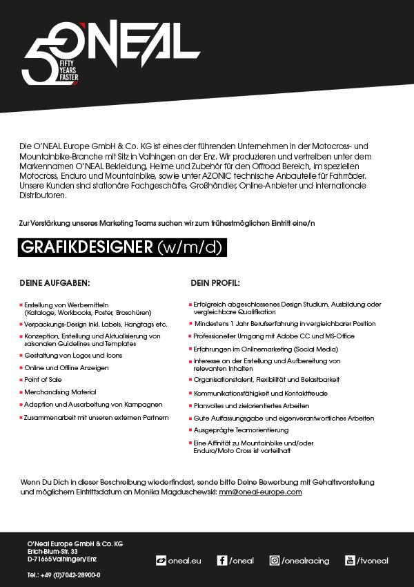 Grafikdesigner (w/m/d)