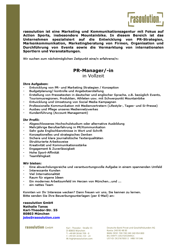 PR-Manager/-in