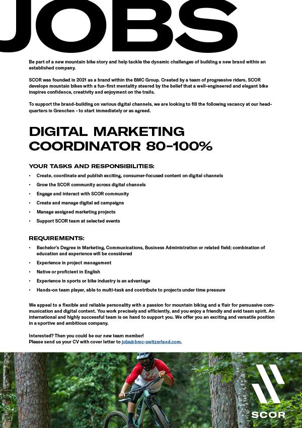 Digital Marketing Coordinator (M/W/D)