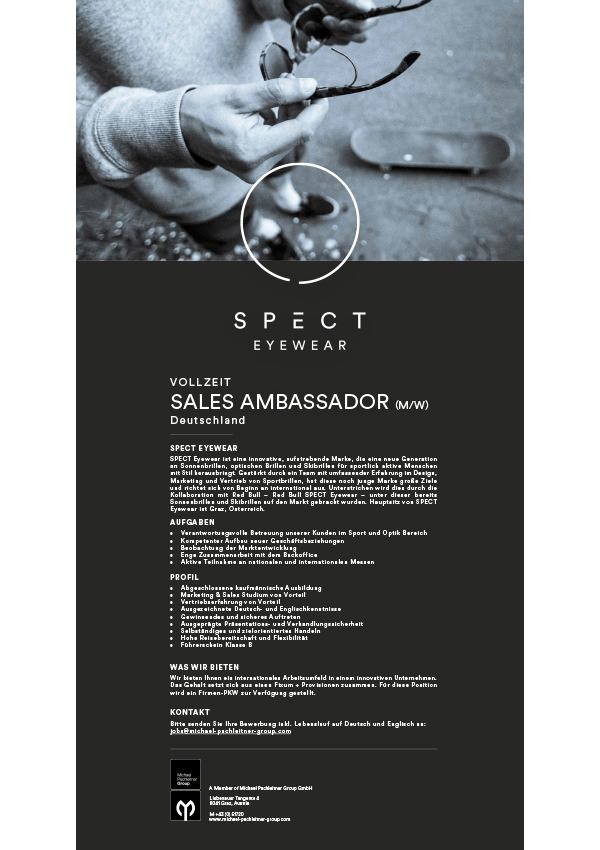Sales Ambassador Germany