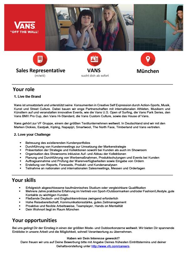 Sales Representative (m/w/d)
