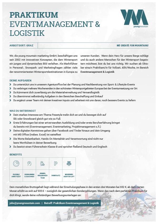 Praktikum Logistik & Eventmanagement